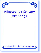Nineteenth Century Art Song Collections